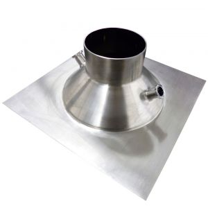 Bw x Tri-Clamp Ported Funnel Top